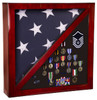 Memorabilia & Flag Display Case