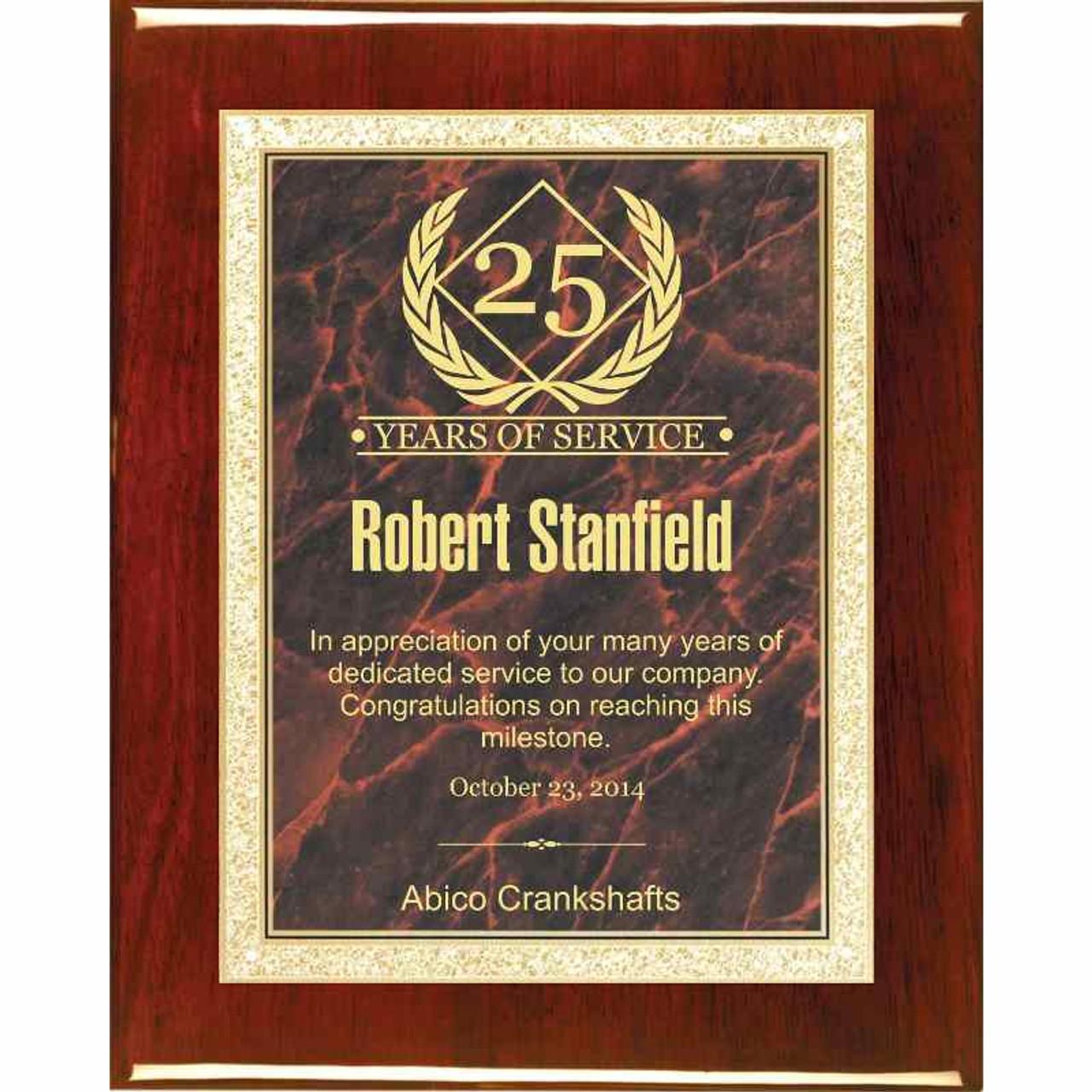YMCA Award Plaque 6x8 Trophy FREE engraving
