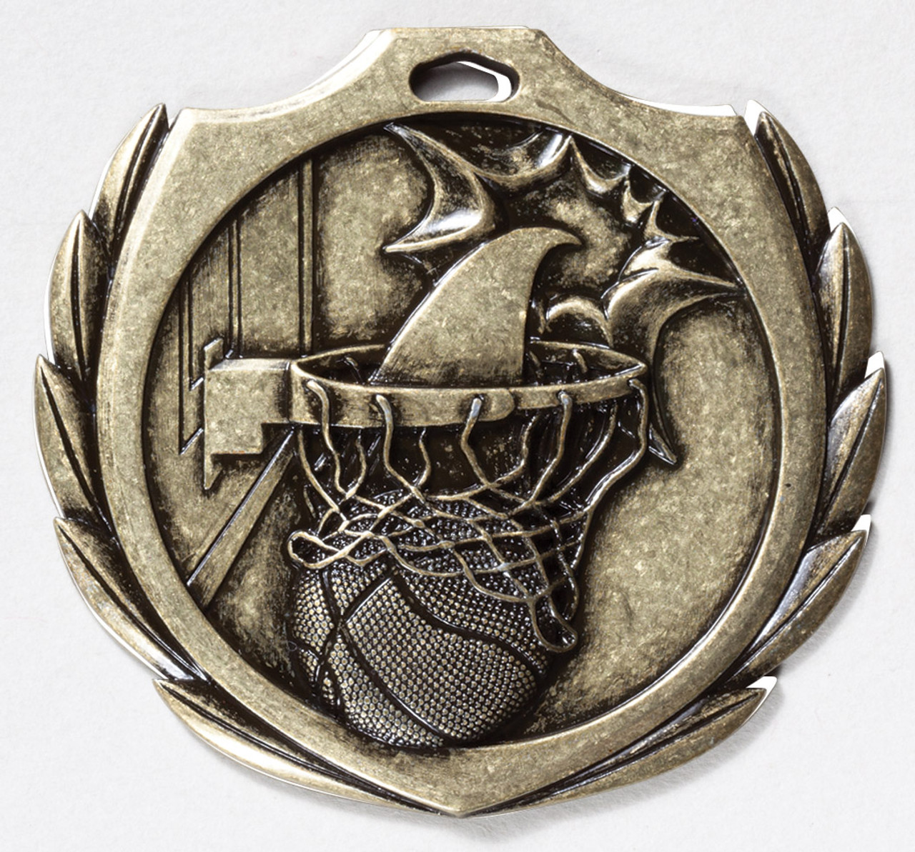 Basketball Burst Medal