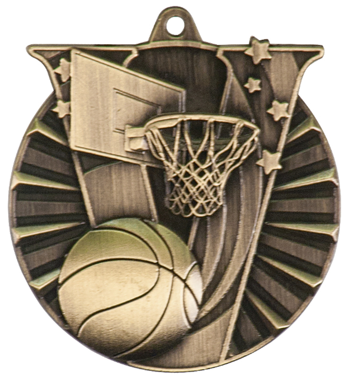 Basketball Victory Medal