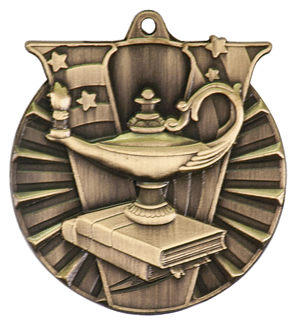Lamp Of Knowledge Victory Medal
