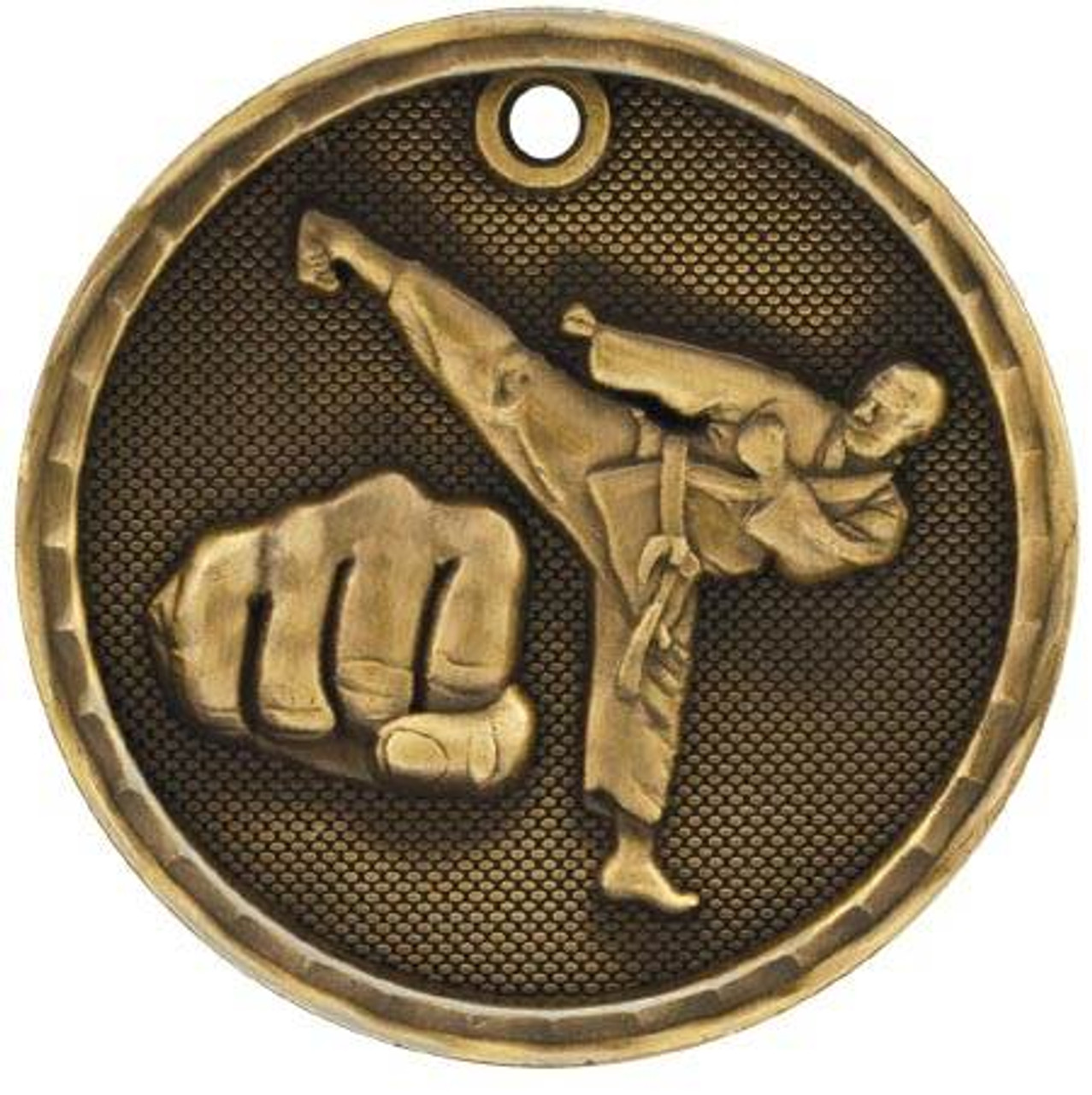 3D Martial Arts Medal