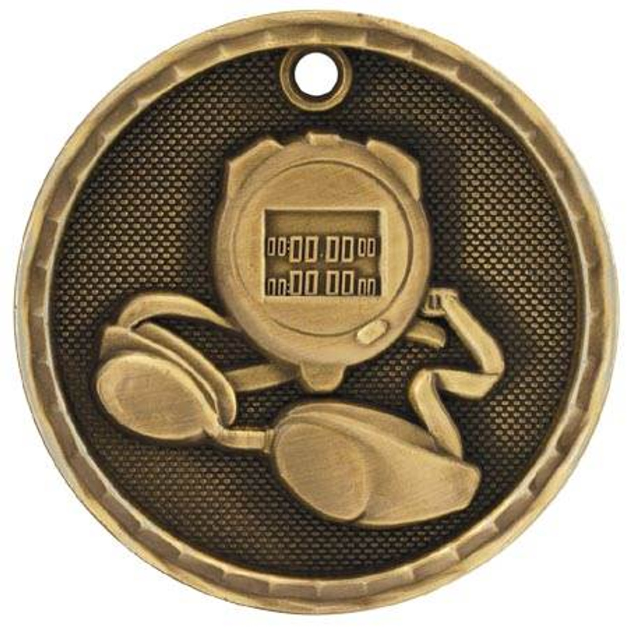 3D Swimming Medal