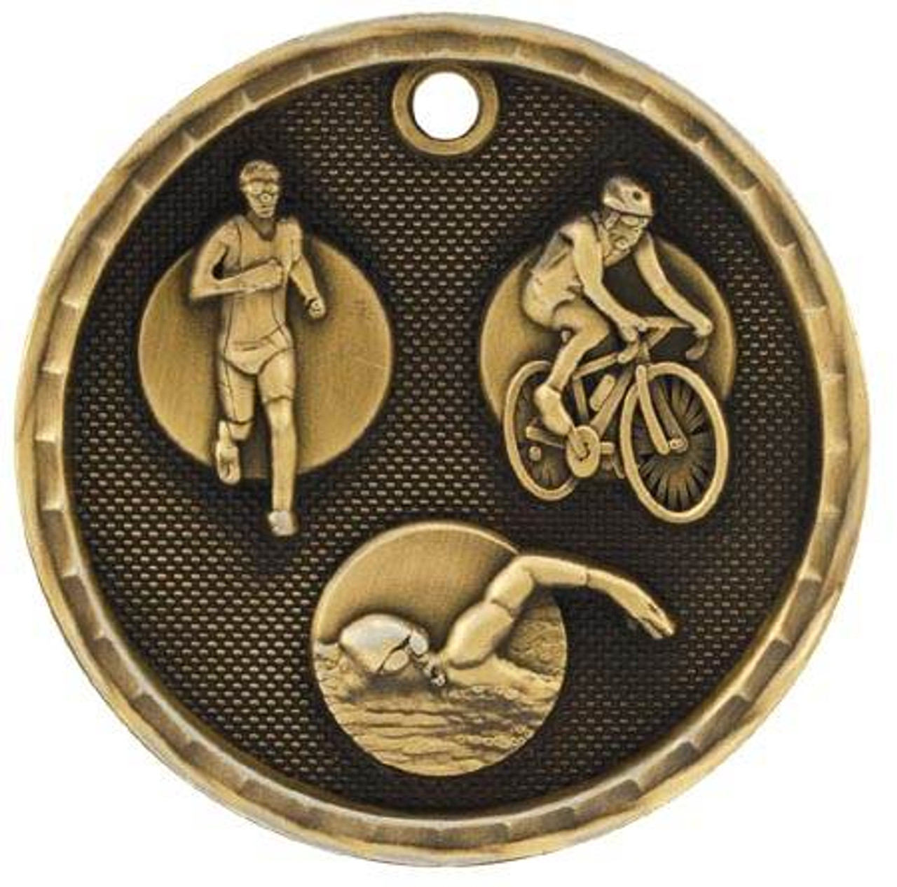3D Triathion Medal