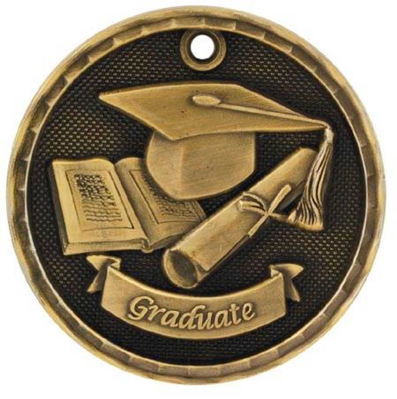 3D Graduate Medal
