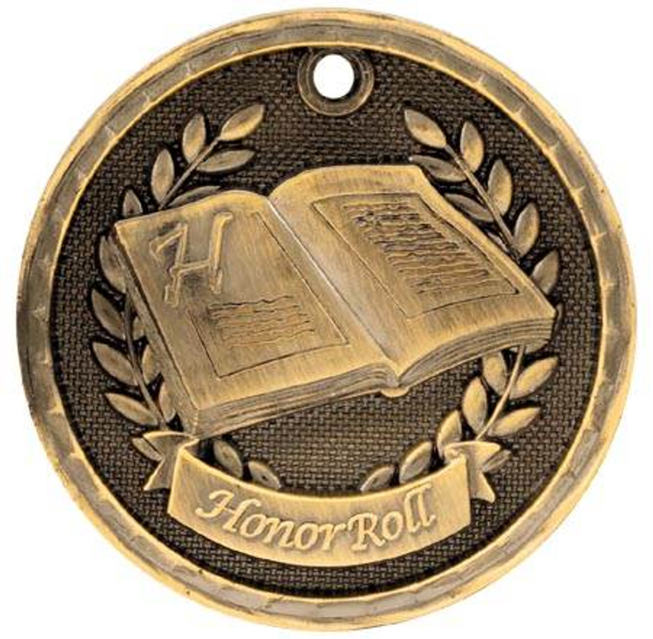3D Honor Roll Medal