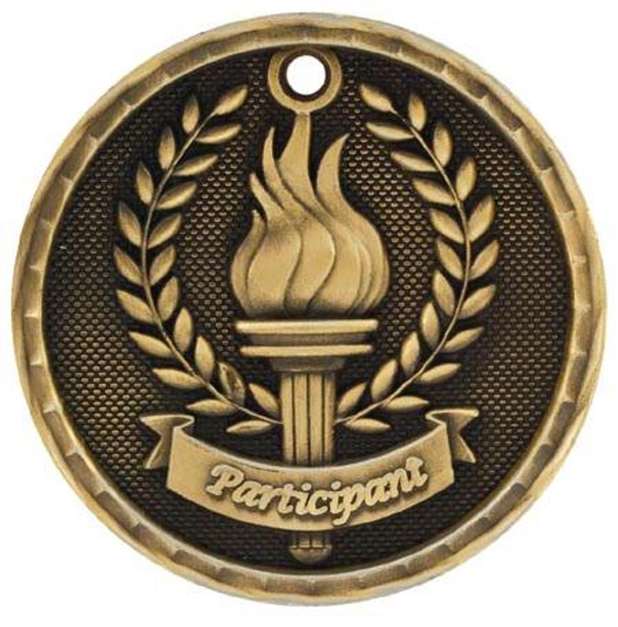 3D Participant Medal
