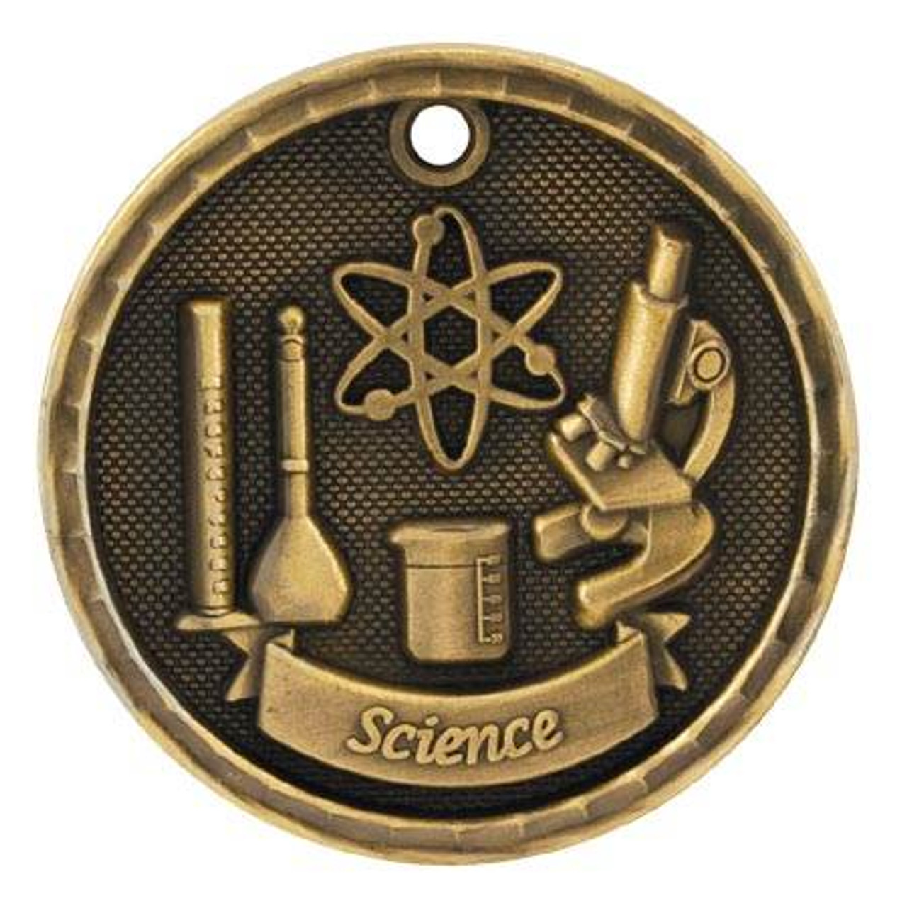 3D Science Medal