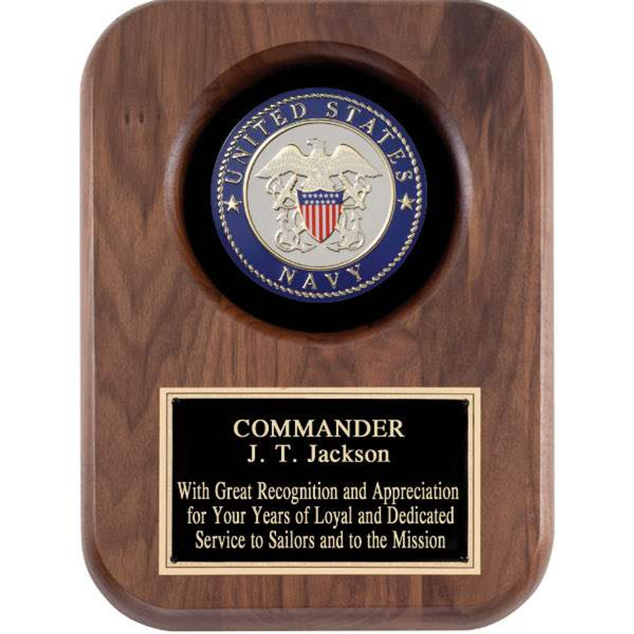 United States Navy Plaque