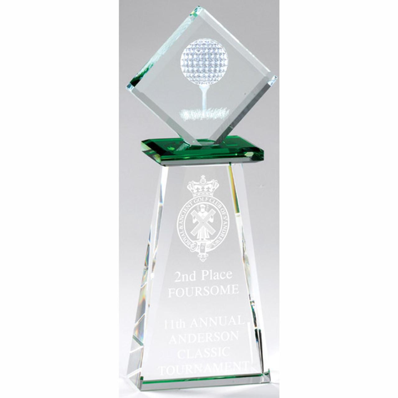 Golf Diamond Crystal Tower