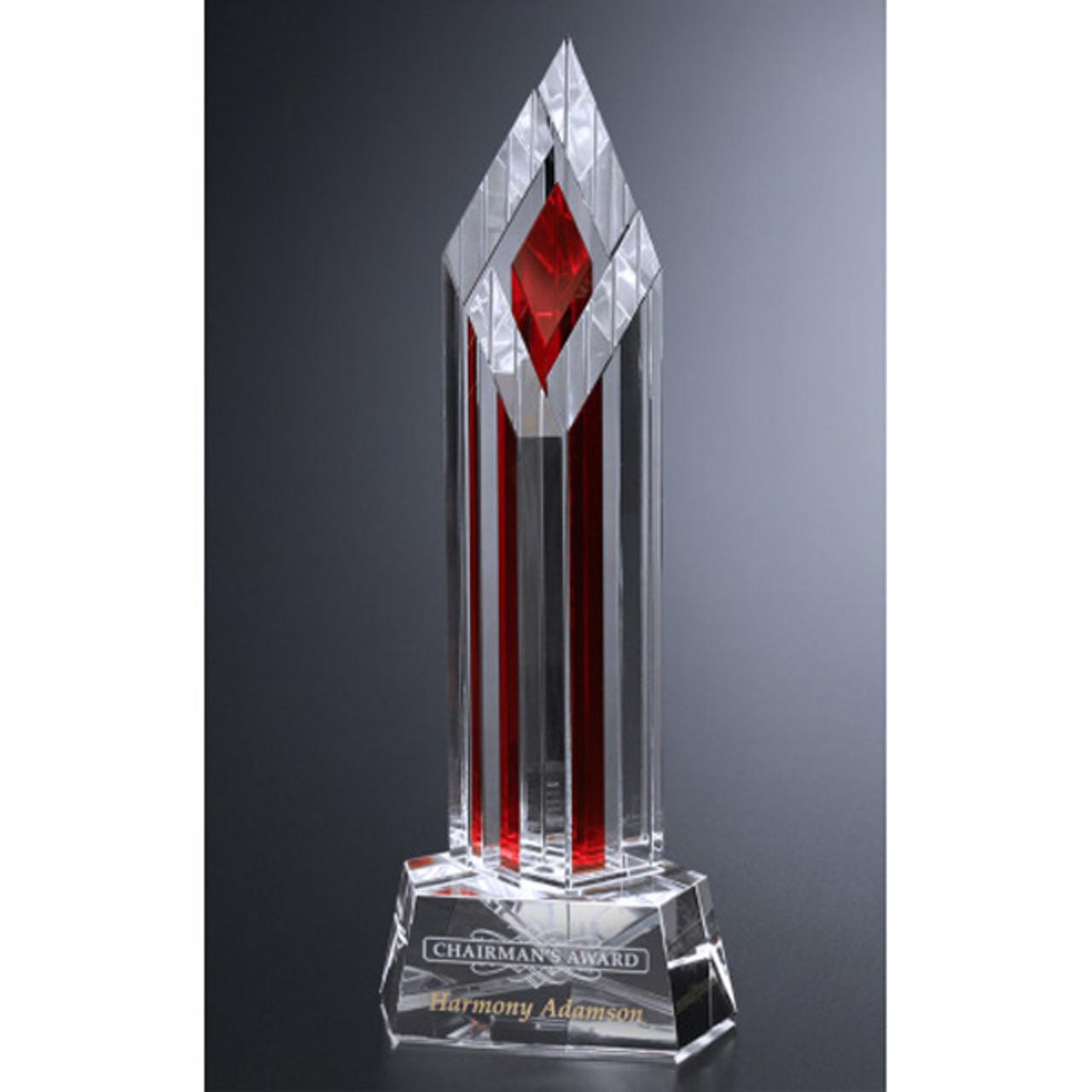 Ruby Halifax Crystal Award
