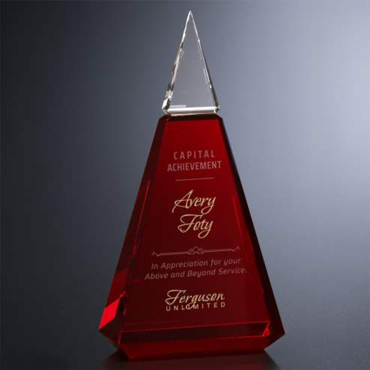 Ruby Crystal Award