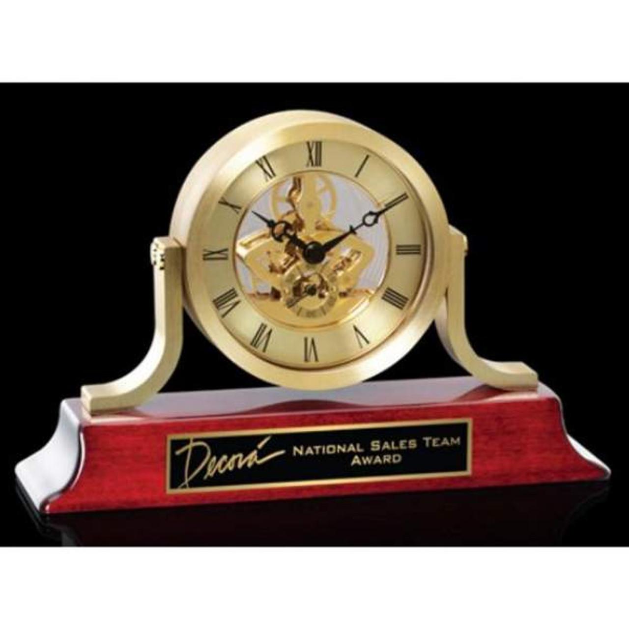 Larson Clock-Gold