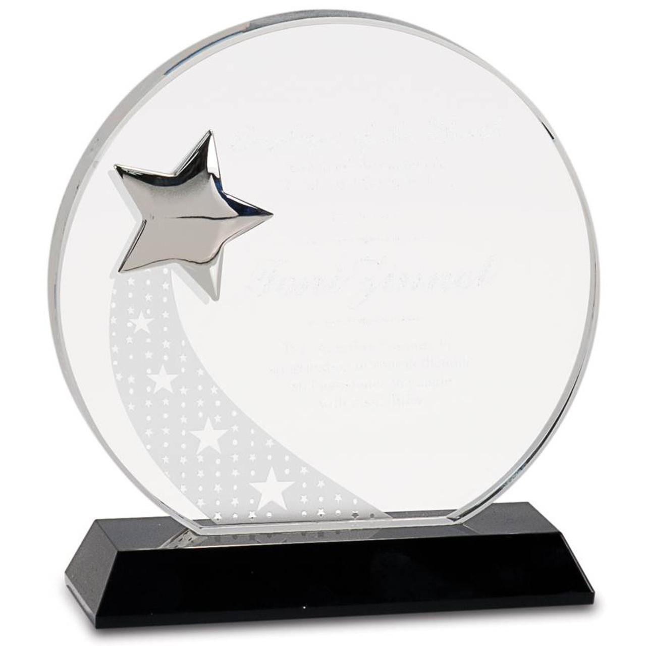 Crystal Achievement Shooting Star
