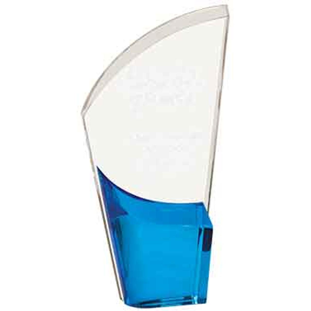 Blue Lunar Acrylic Award