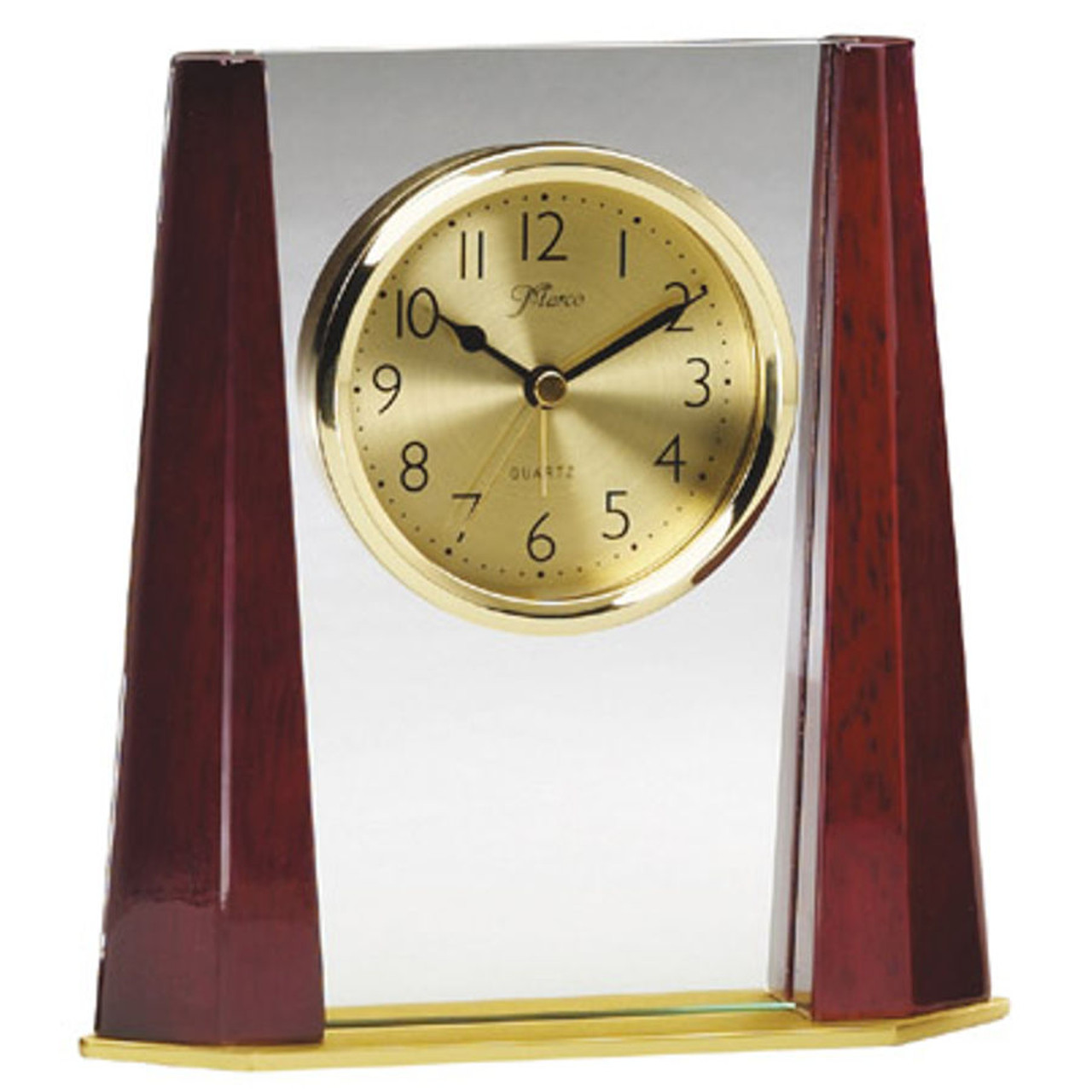 2 Tone Column Award Clock