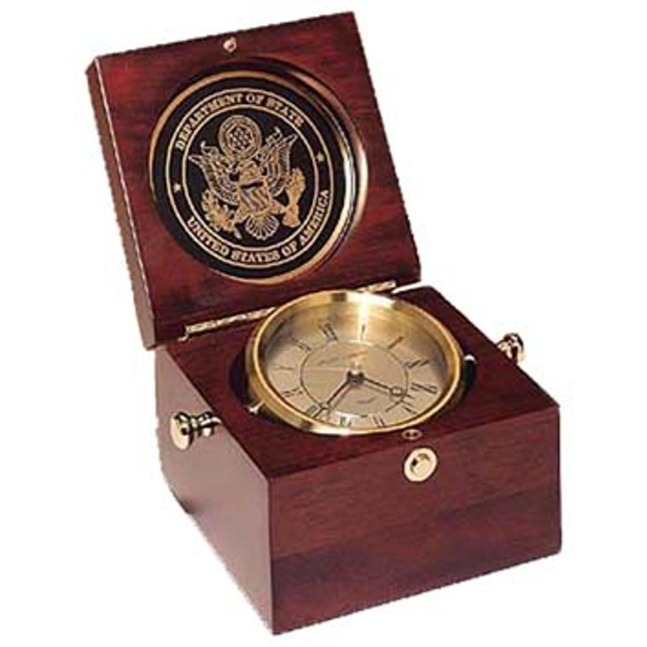 Square Captain's Clock