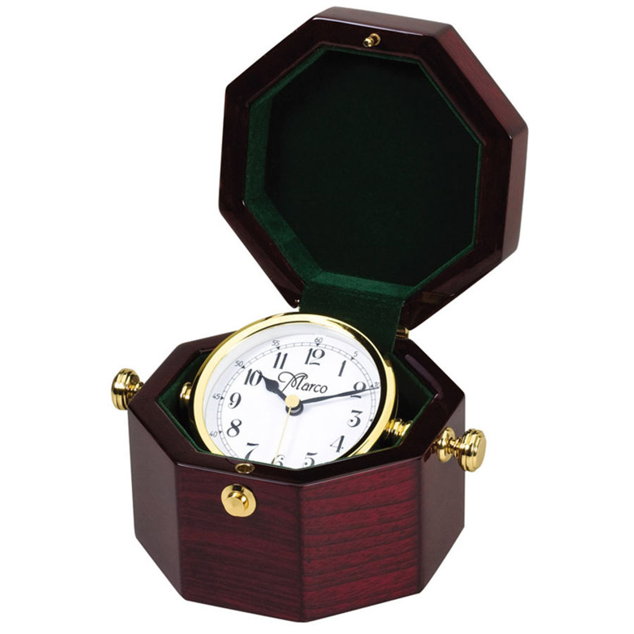 Octagon Captains Clock