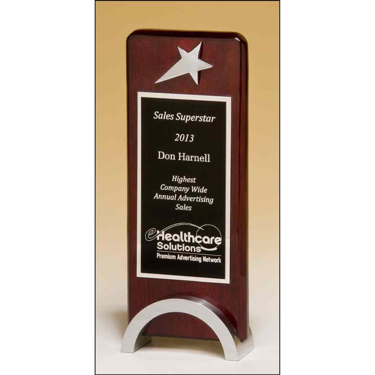 Chrome Star Trophy