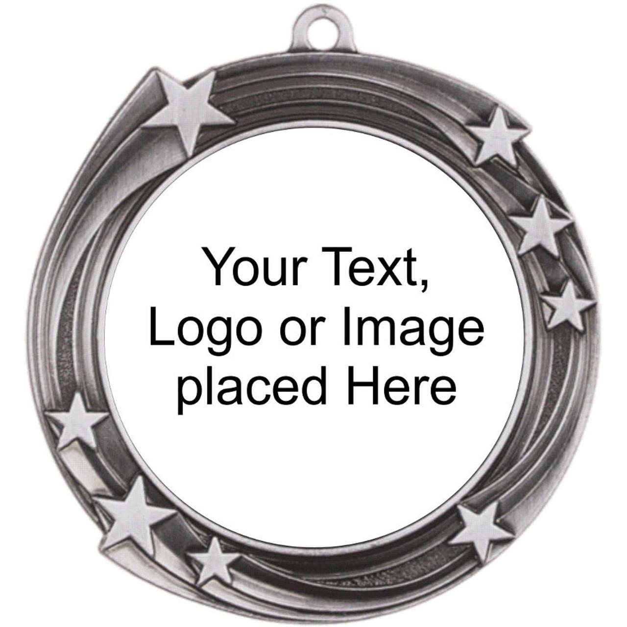 Swirling Star Medal Holder