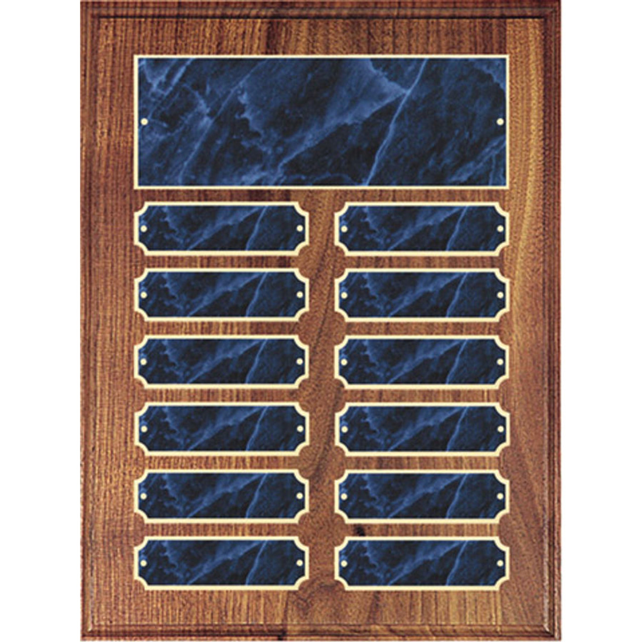 Blue Marble Perpetual Plaque
