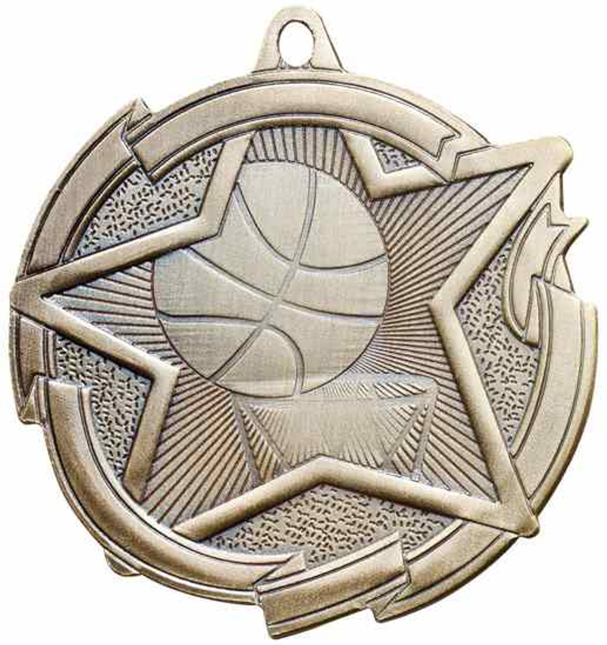 Star Basketball Medal