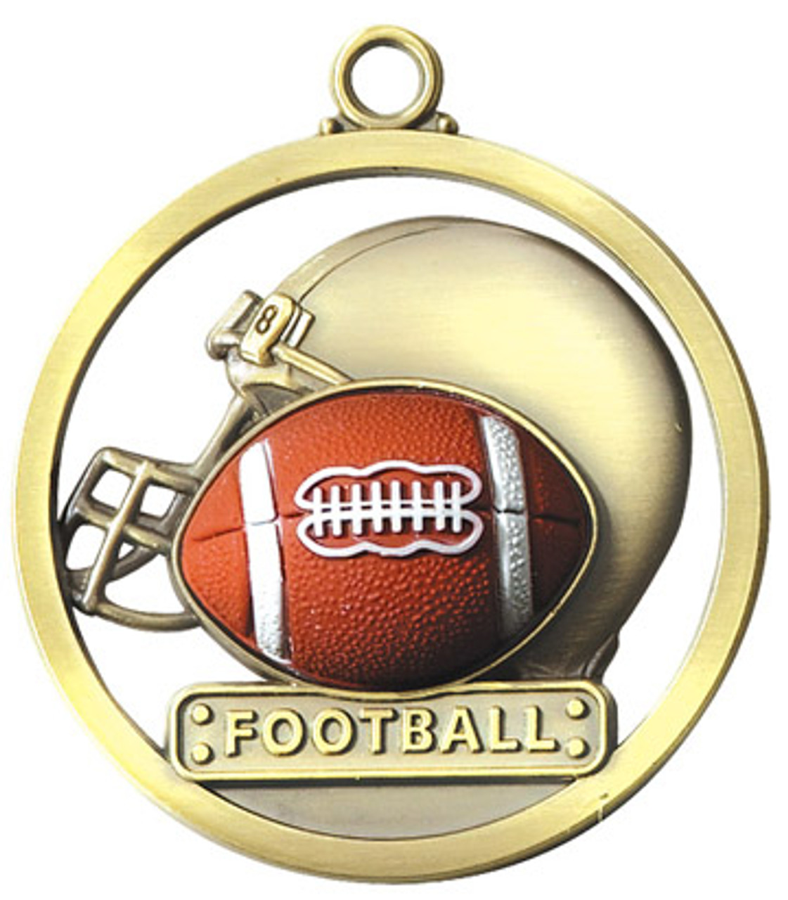 Game Ball Football Medal