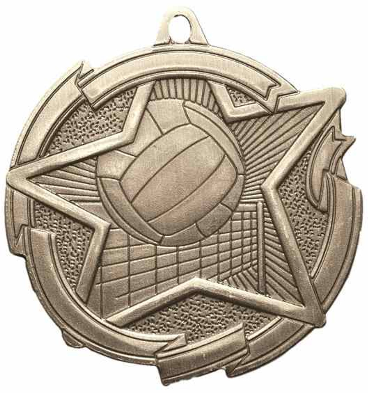 Star Volleyball Medal