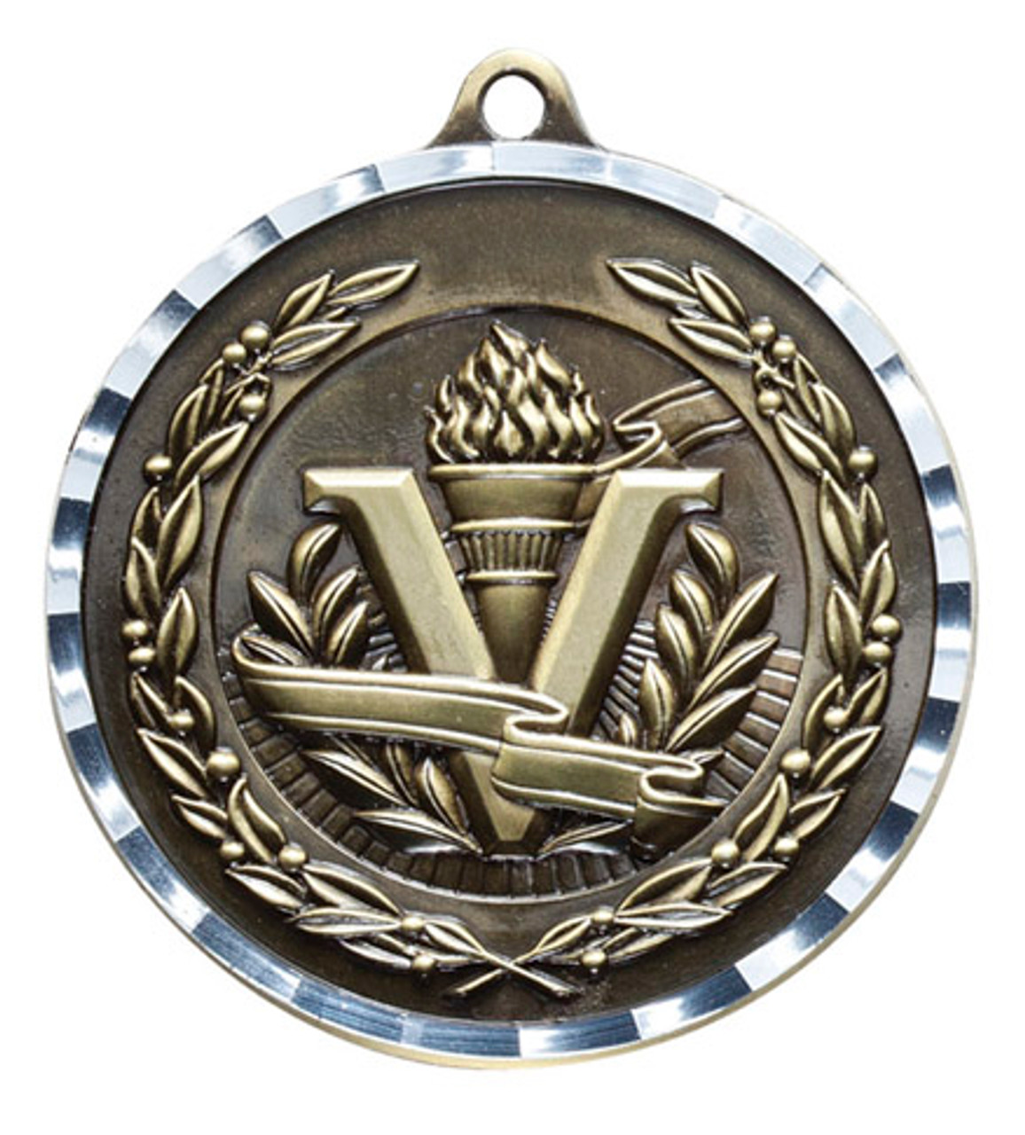 Diamond Cut Victory Medal