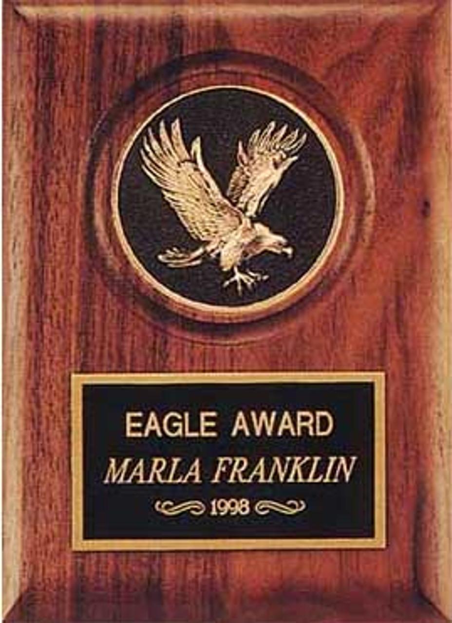 Eagle Medallion Plaque