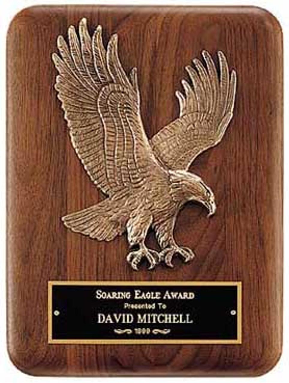 Eagle Landing Plaque