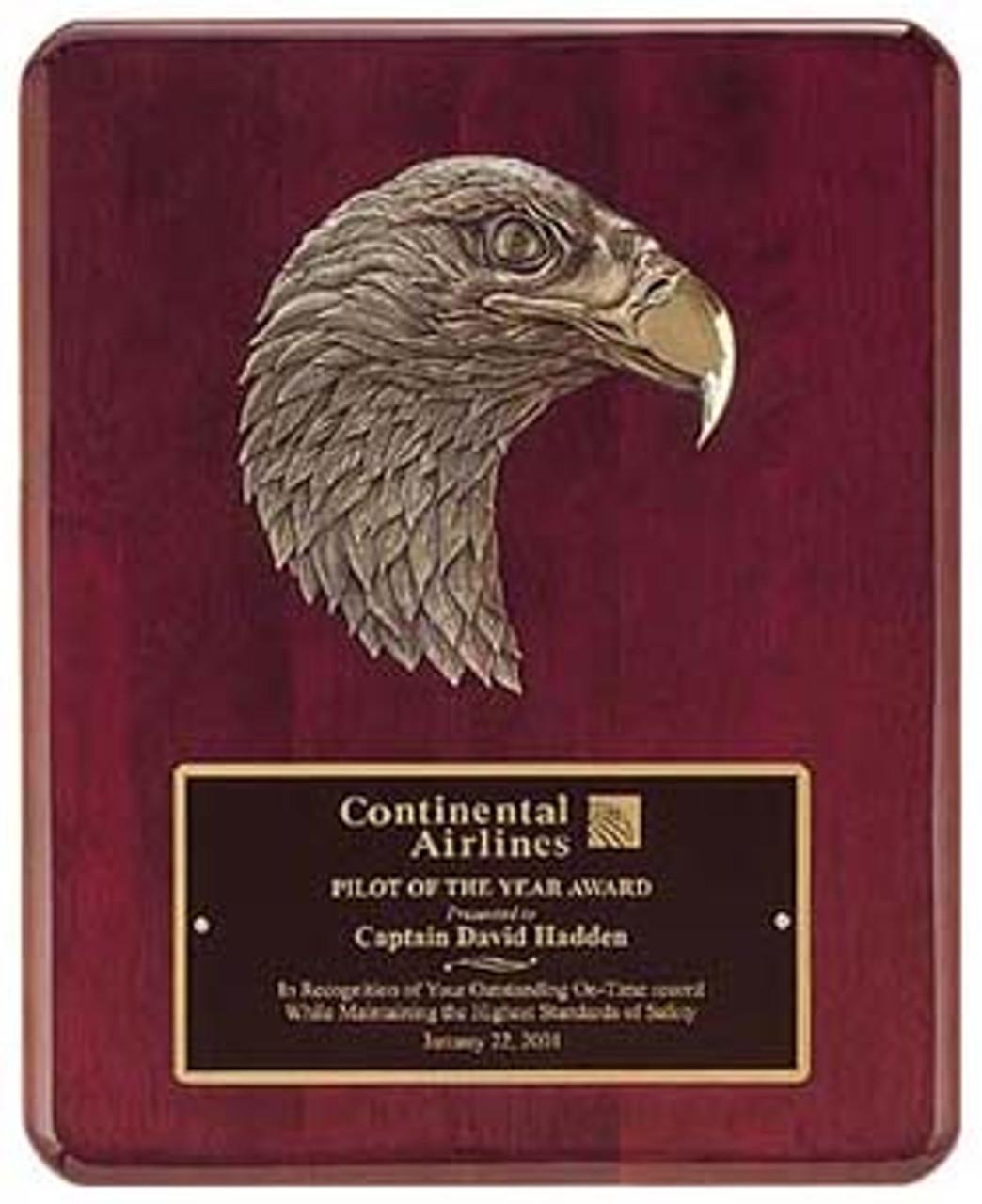 Plaque/Antique Bronze Eagle