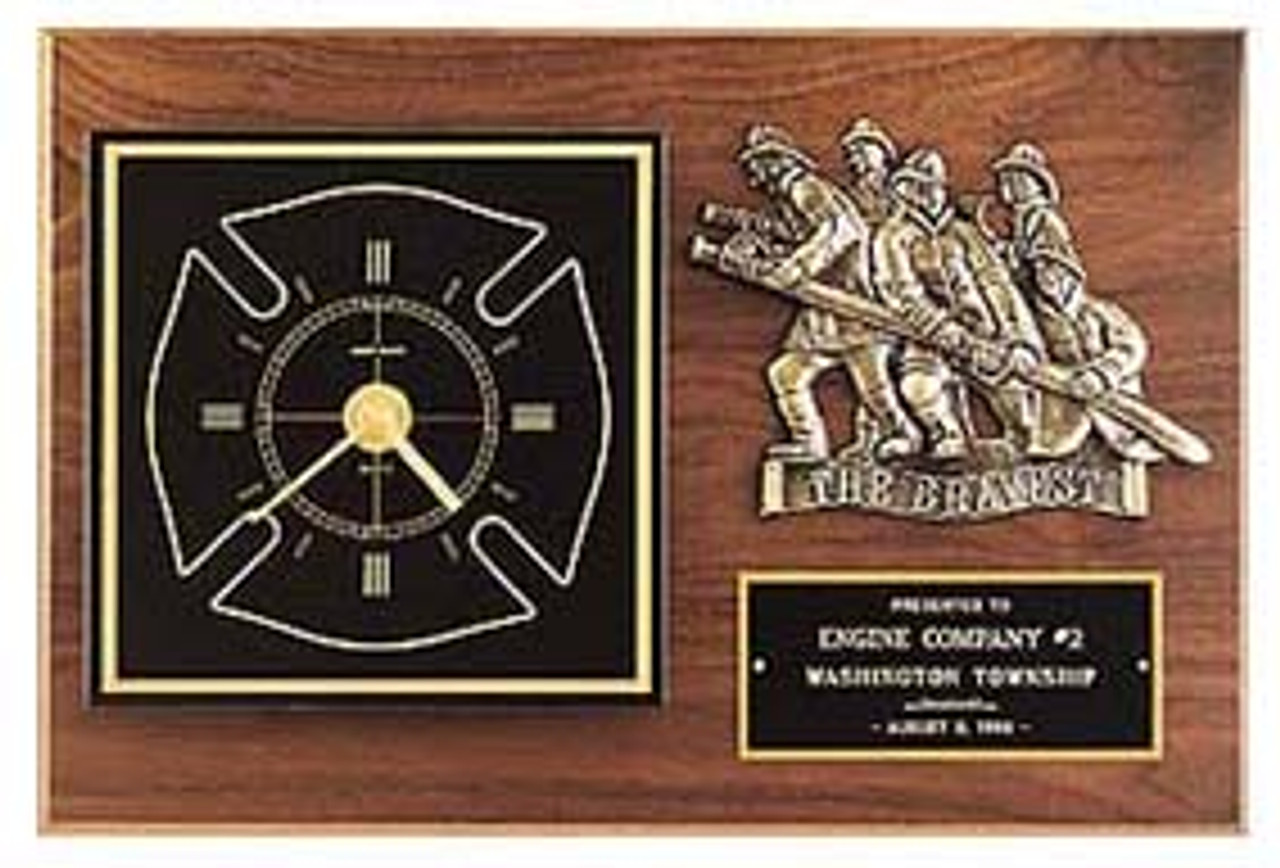 Maltese Cross Award Clock