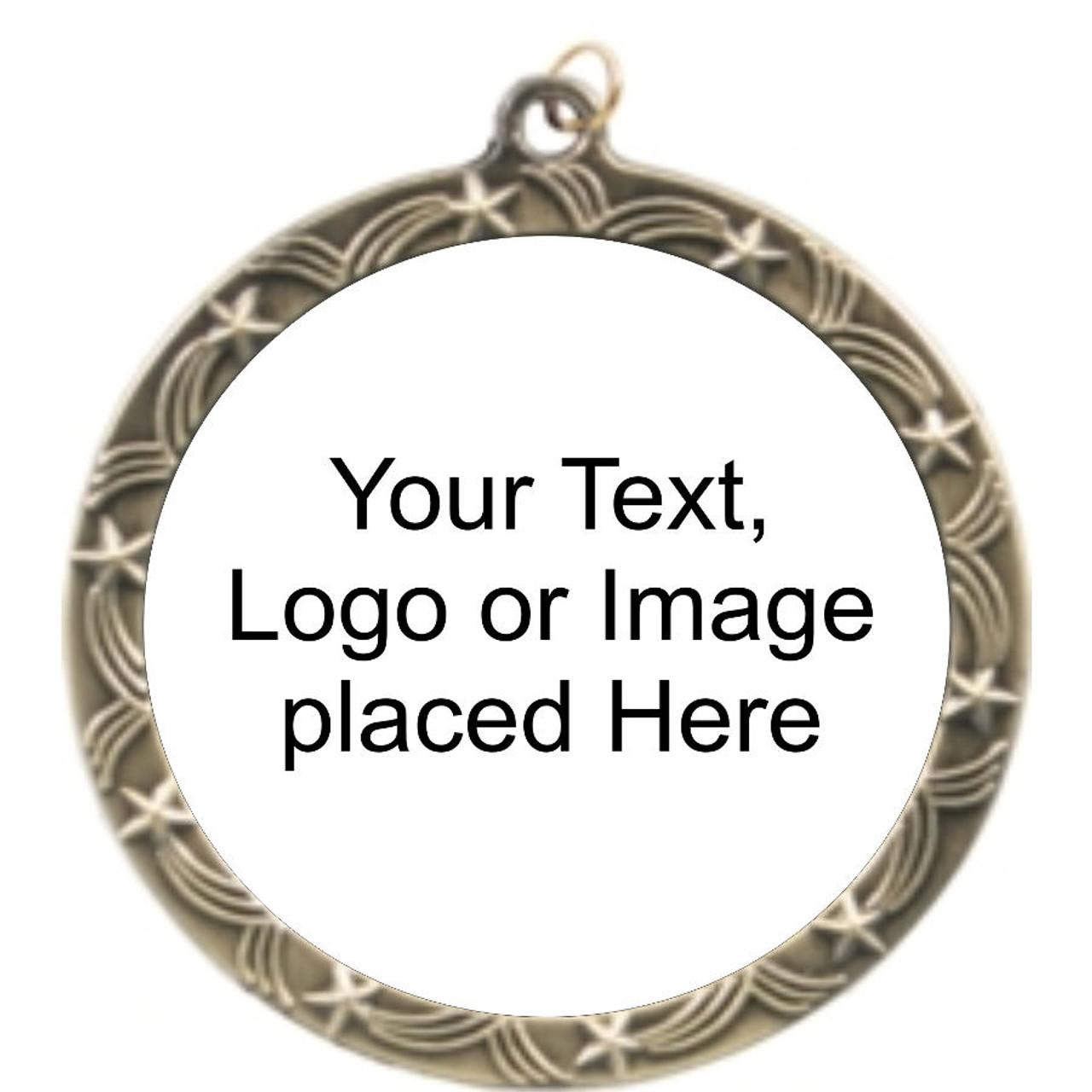 Star Rim Custom Medal Holder