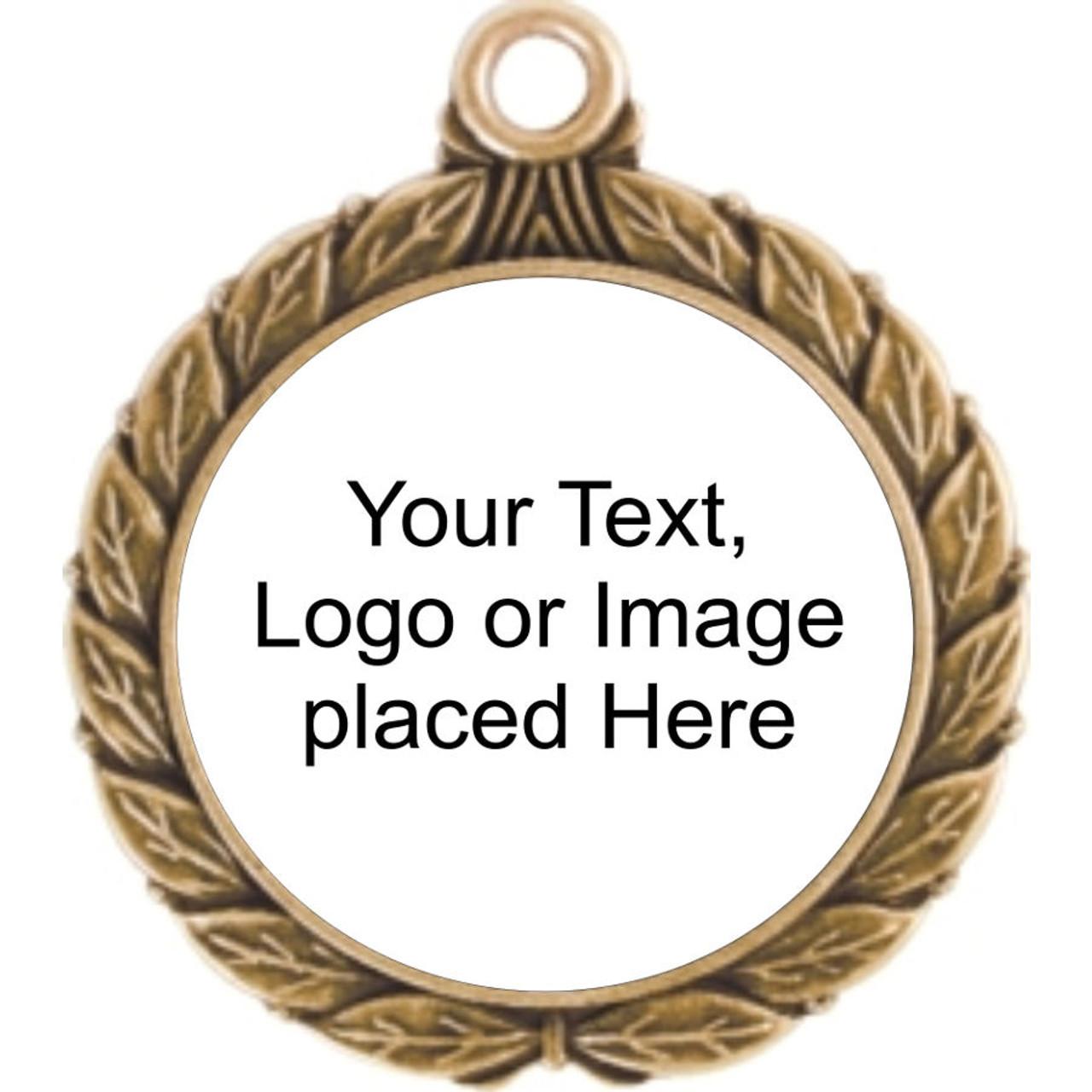 Wreath S3 Custom Medal Holder