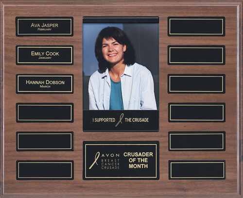 12 Plate Photo Perpetual Plaque