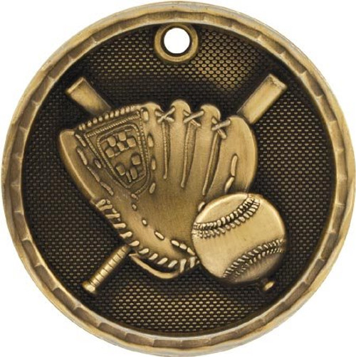 3d Baseball -Softball Medal