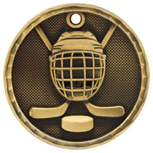 3D Hockey Medal