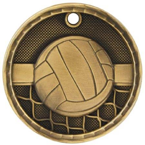 3D Volleyball Medal