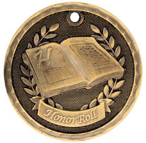 3D Honor Roll Medal