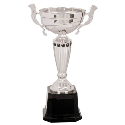 Silver Cup w/ Black Studs
