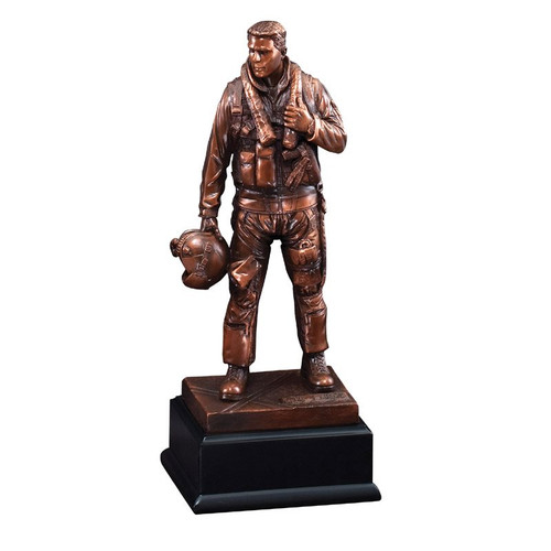 Bronze Air Force Resin