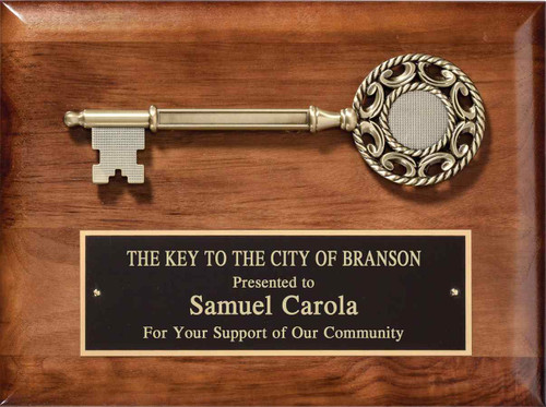 Key To City Plaque