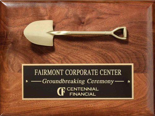 Ground Breaking Plaque