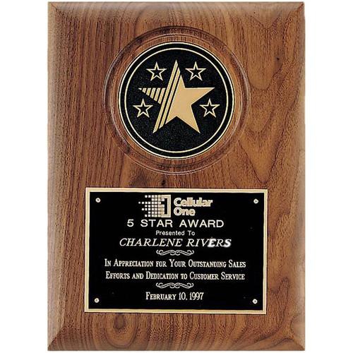Star Medallion Plaque