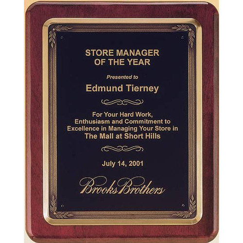 Antique Frame Plaque