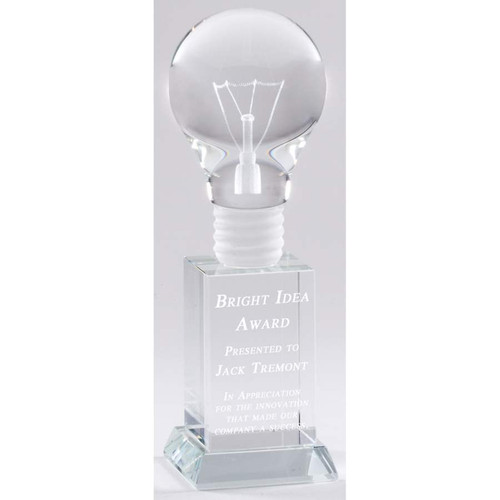Bright Idea Crystal Award