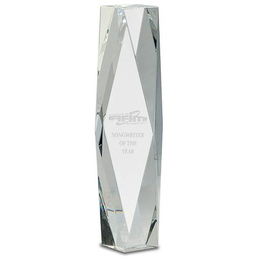 Crystal Pedestal Trophy