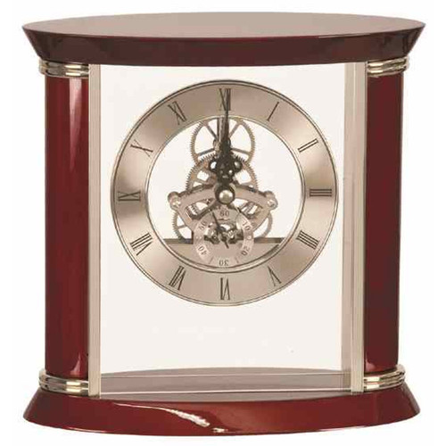 Executive Rosewood Piano Finish Clock