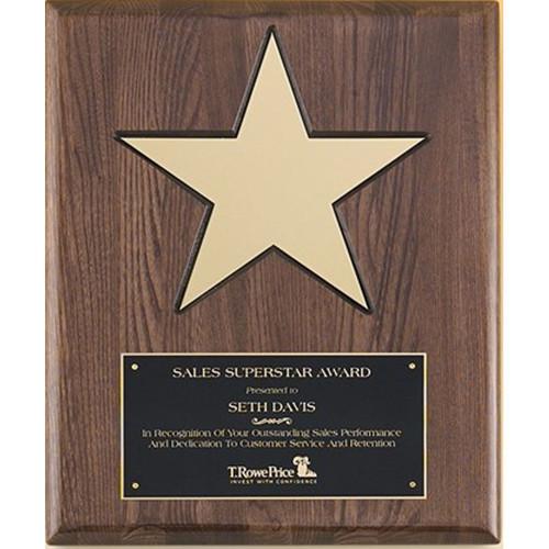Walnut Piano Finish w/Gold Aluminum Star
